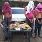 """Polimonagas desmanteló banda """"Los Intocables"""" #Sucesos http://t.co/IfozAXxM8e  http://t.co/2wTfpZ7ZfH"""