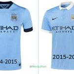 Manchester City et son nouveau maillot, une histoire de coutures... http://t.co/30cIdEP9HJ