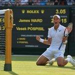 #Wimbledon QFs here he comes!!!! #ComeOn #Wimbledon #AnythingIsPospisil http://t.co/ZA8ql47PoI
