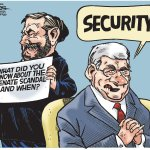 Did you hear about the Senate scandal? Stephen Harper says SECURITY!!!! #cdnpoli #Canada #Harper http://t.co/lvo1gJvNK9