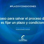 """Nuestra posición """"El paso para salvar el proceso es fijar un plazo y condiciones"""" @JuanManSantos #ProcesoDePaz http://t.co/yVg3j5EFD4"""