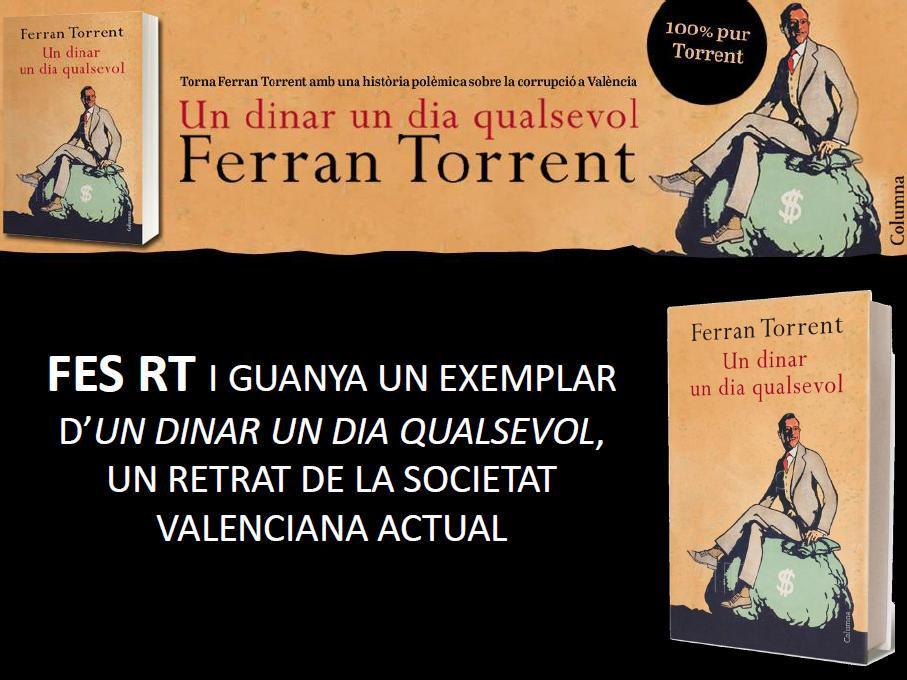 #concurs Constituït el nou govern valencià, sortegem 3 exemplars d'#UnDinarUnDiaQualsevol de @ferrantorrentll Fes RT! http://t.co/g6J7JlfsT9