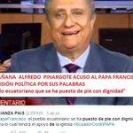 La prensa golpista tratando de dañar la visita del #PapaFranciscoEnEcuador ya por Dios calmen el odio @tcanarte http://t.co/mxgylWAf2k