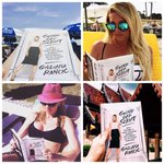 Love seeing all your pics reading #goingoffscript! It's the perfect summer rea.... http://t.co/2nAXR83VbM http://t.co/0TOYOsuibS