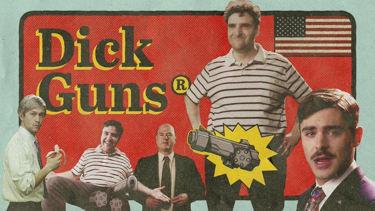 My buddies @Sethrogen & @evandgoldberg wrote this comedy about dudes, dicks & guns - http://t.co/NJSIrB2Z1N #DickGuns http://t.co/0aiCZahXep