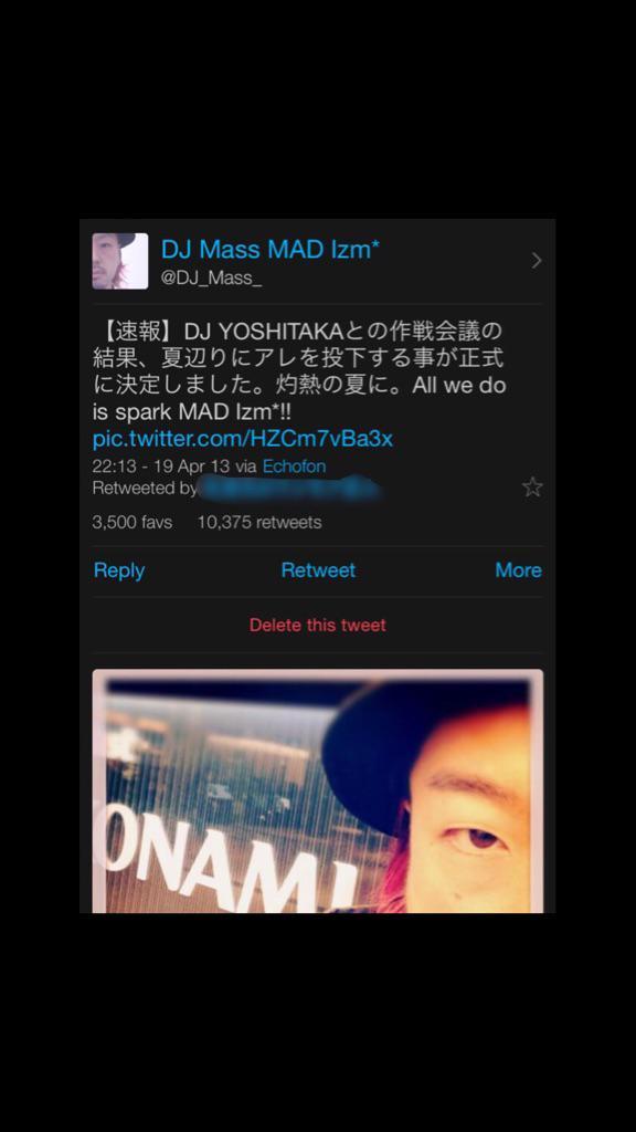 10000RT、3500FAVありがとうございました。何故今か、って、全部YOSHITAKAのせいです。w   灼熱Pt.2  Long Train Running http://t.co/MU9kjmaUyH