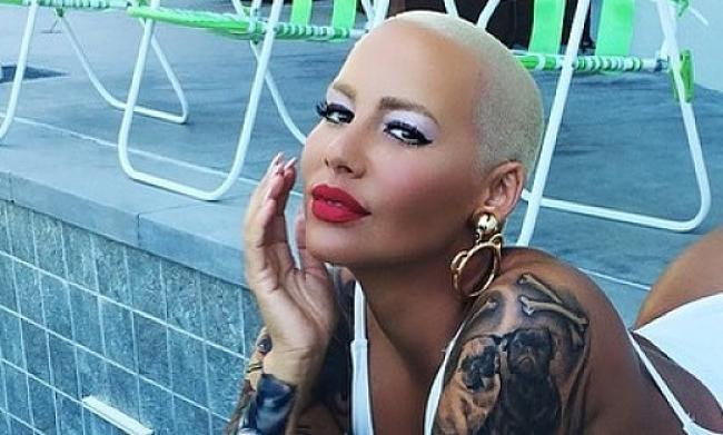 What was Amber Rose's Saturday like? Butt-tastic! See the NSFW pics