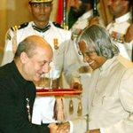 My Padma Shri moment with Dr. APJ Abdul Kalam.:) #InspiringPersona http://t.co/ZdSupMF8de