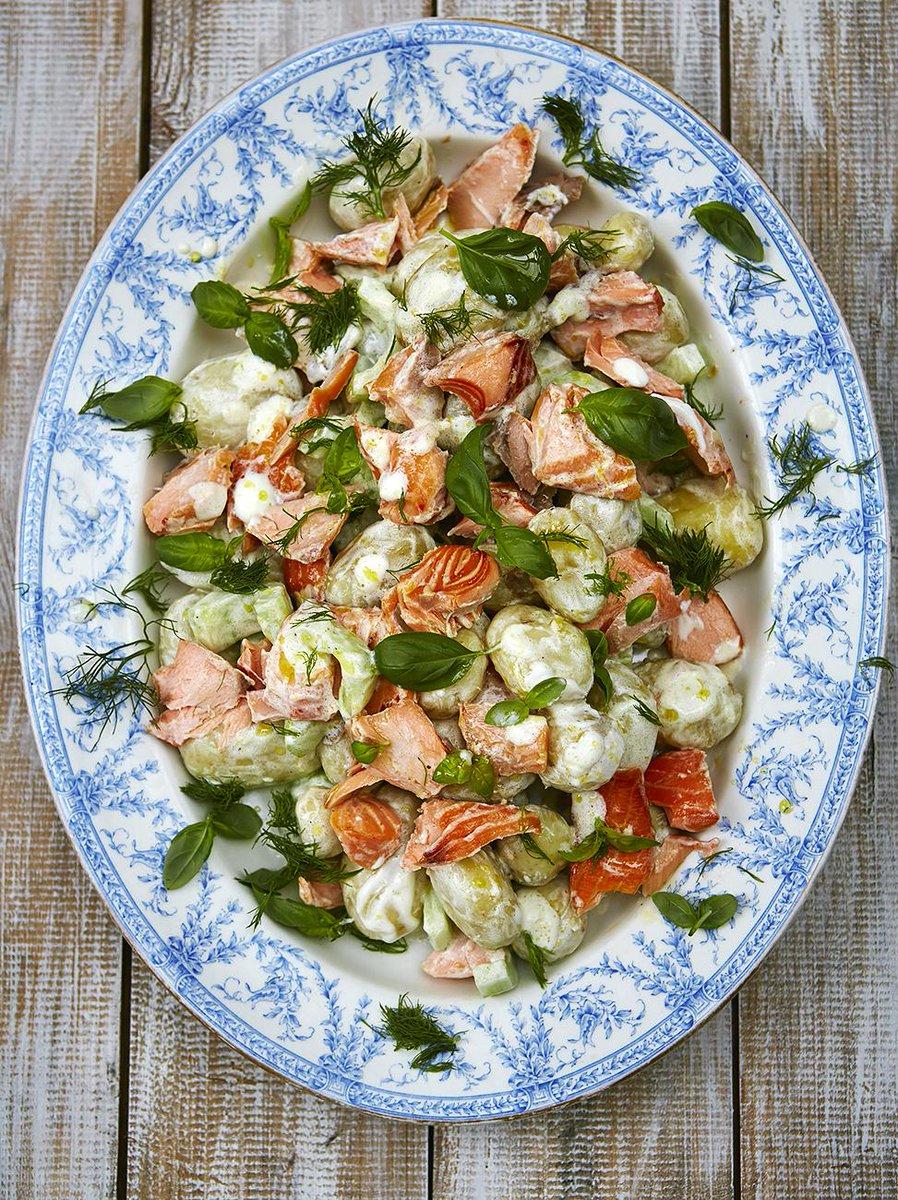 #Recipeoftheday Summer salmon salad - a posh twist on good-old potato salad http://t.co/YfB0a08JiX http://t.co/fYGxCyPT9U