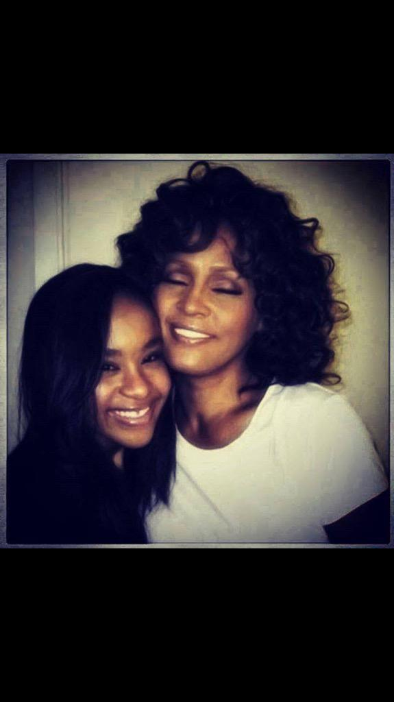 May you lay peacefully and now be re joined with the biggest Angel, your mother , at your side. #BobbiKristina