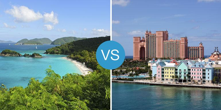 Caribbean or Bahamas? That is the question. Which island is right for you?