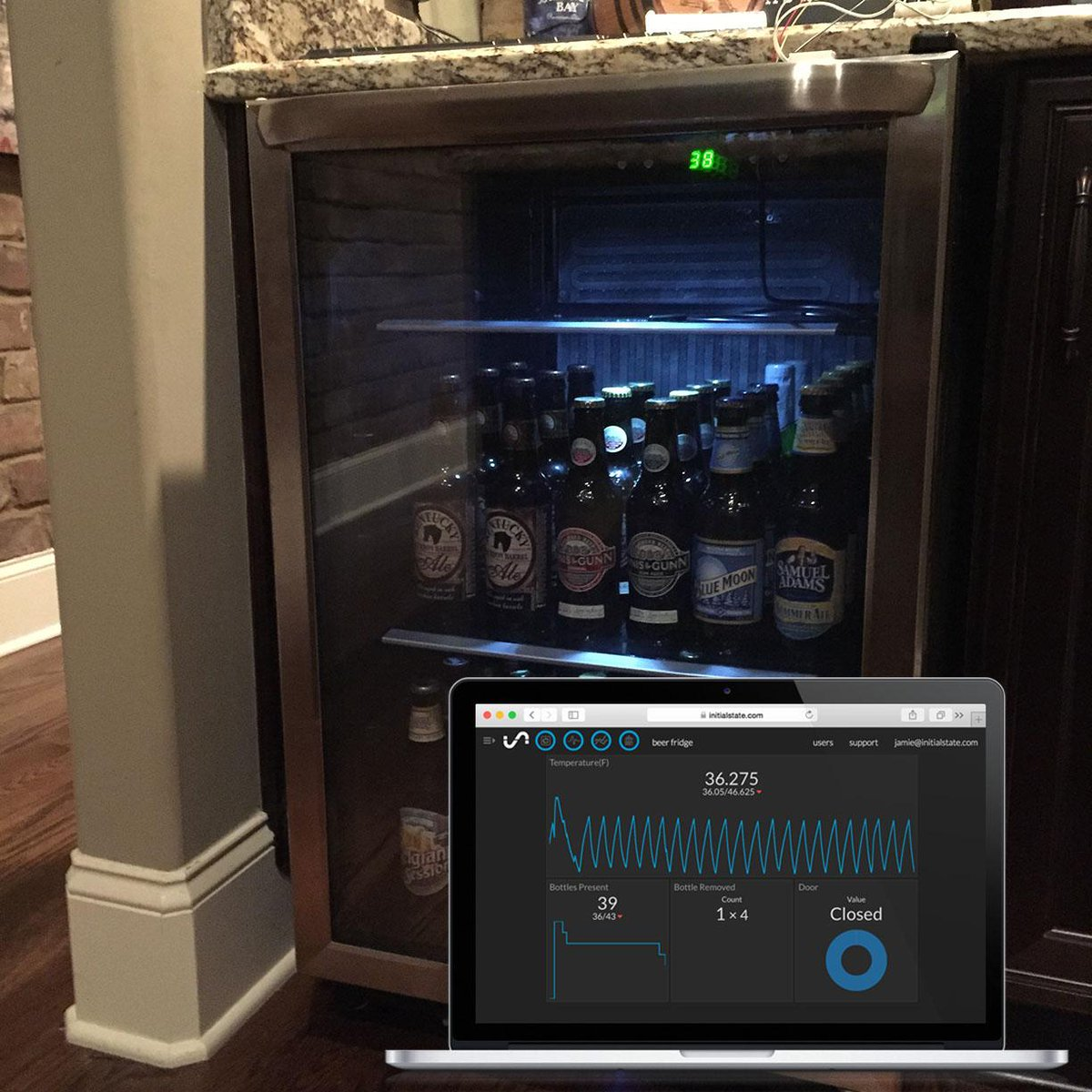 Create a Smart Beer Fridge with a @Raspberry_Pi via @make http://t.co/yFbGCV8CFd http://t.co/aHnl0AOTXe