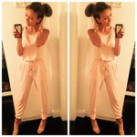 #LOTD: jumpsuit by #GbyG for @HSN (shop here: http://t.co/b7piBXvE3v) / heels by .... http://t.co/VdqzzDW6gD