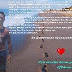 Bello Risitas @JCarlosArauzo lo hicimos con mucho amor para ti ojala te guste palabras que salen del corazón. http://t.co/BgsCZNUKlc rt