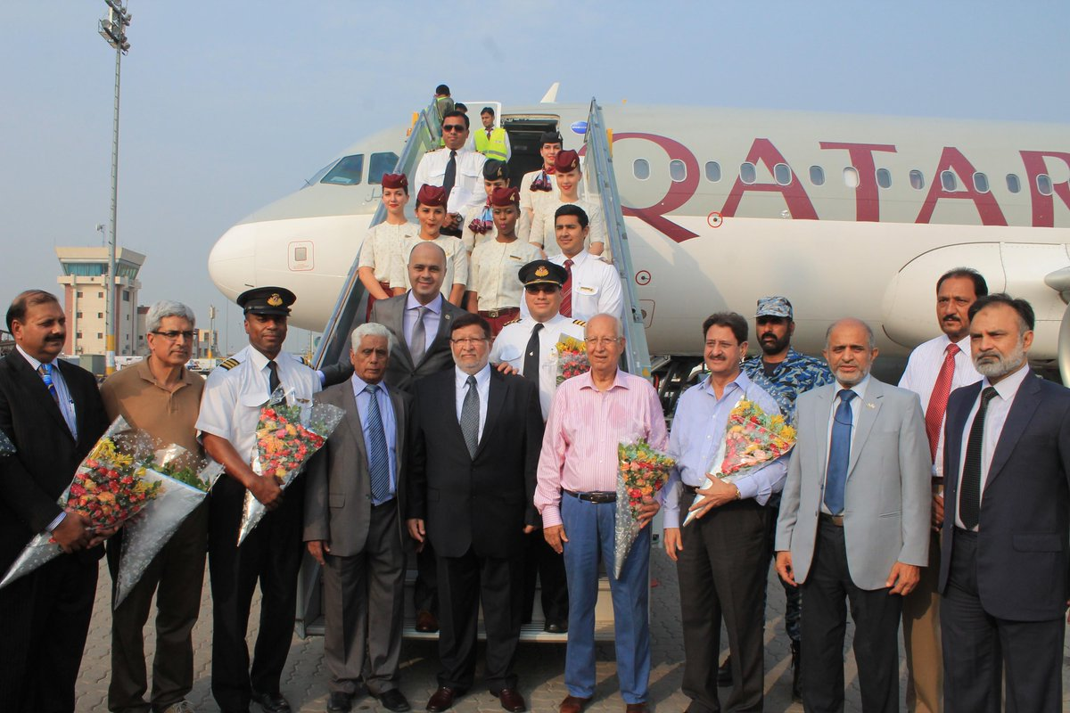 QatarAirways launches two new destinations in Pakistan on consecutive days. Read more at
