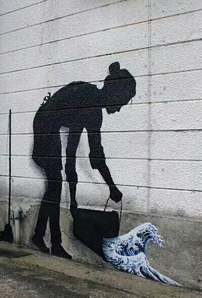 Arte callejero. http://t.co/cGAEIo7P1B