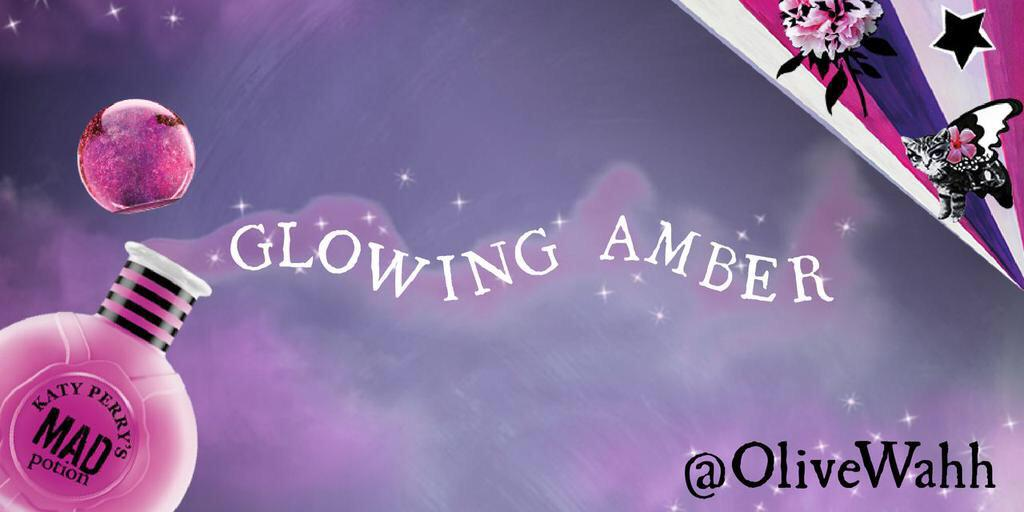@katyperrypopup With some Glowing Amber, it helps brings that amazing scent to #MadPotion