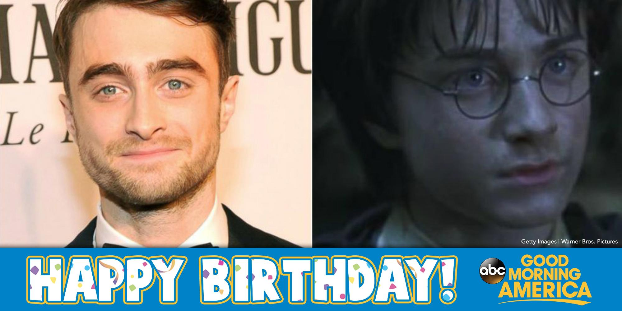 Happy Birthday Harry Potter! Daniel Radcliffe turns 26-years old today.