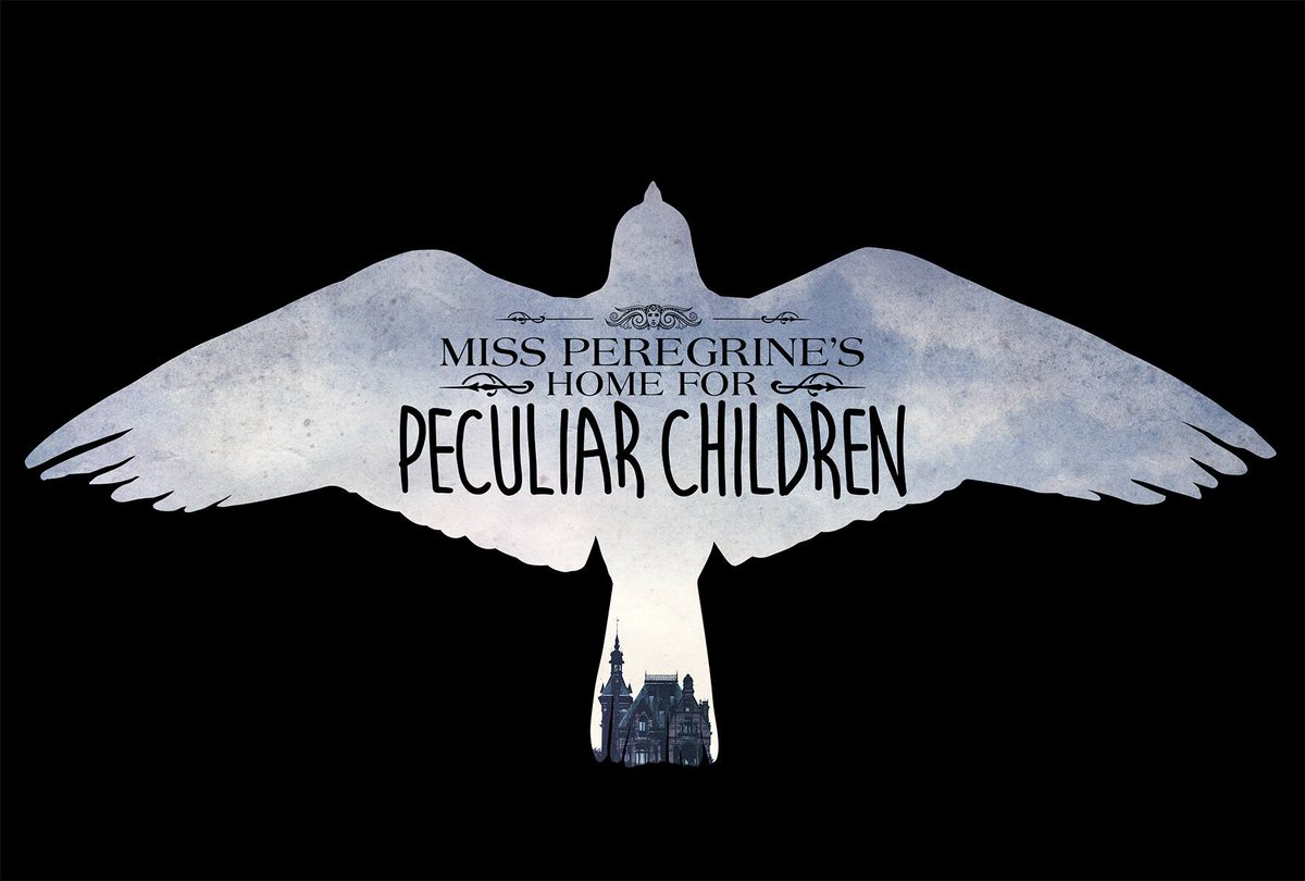 This is the official title treatment for the Miss Peregrine's Home for Peculiar Children movie & I LOVE LOVE LOVE IT. http://t.co/C2ZDWN7LKC