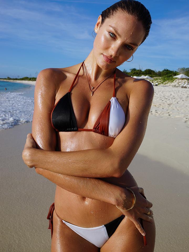 Killer combo: rich earth tones, smokin' hot bikini & @angelcandice. #sneakpeek http://t.co/xV71sjR8iM