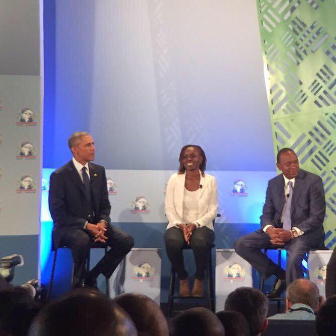 Great day for African women in tech. @akirachixs sitting between two presidents. http://t.co/gISENGrmzE http://t.co/FQyY8RumCx