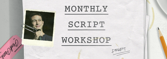Here's what I propose we go for w/ the 2nd draft of our #MonthlyScriptWorkshop screenplay - http://t.co/dJNyXfoI47 http://t.co/07cViqAkrq