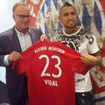 Se confirmó cuál será el número que utilizará Vidal en el Bayern → Munich http://t.co/FxlfdBxp1j http://t.co/UPJ0AaFjRT