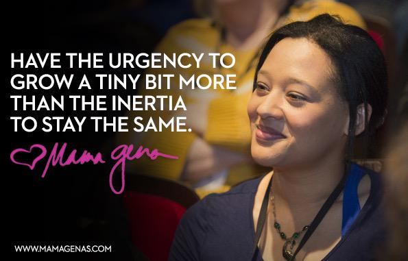 Have the urgency to grow a tiny bit more than the inertia to stay the same. @mamagena http://t.co/Wp3X0QE3Sk http://t.co/UJwEEX9DeP