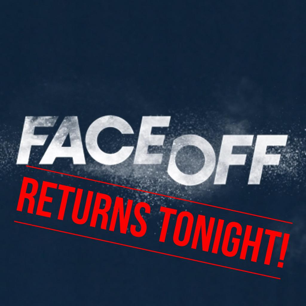 #FaceOff is back TONIGHT @ 9p on @Syfy!  @FaceOffSyfy @mckenziewestmor @VeNeill @glenn_hetrick @NevillePage http://t.co/UFsR2gu0Zw