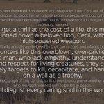 Hunting is a cowards pastime. #BanHunting #CecilTheLion http://t.co/aLAwcdmX9x