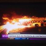 Otro amanecer con barricadas en #Chile -> @GobiernodeChile @jburgosv ???????? http://t.co/c323xei37b