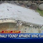 """Former 777 pilot Al Legas on airplane debris: """"I would absolutely bet that this is part of [#MH370] airplane."""" #Greta http://t.co/d4WB5YpZbu"""