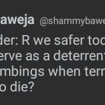 No @shammybaweja We will never be safe... As long as Indian Media folks remain Terrorist-sympathisers... https://t.co/mbqzE14pCA