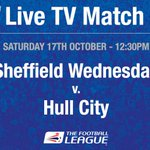 TV GAME: @swfc v @HullCity, October 17 at 12.30pm on @SkySports #hcafc #swfc http://t.co/r0bXdavXt6