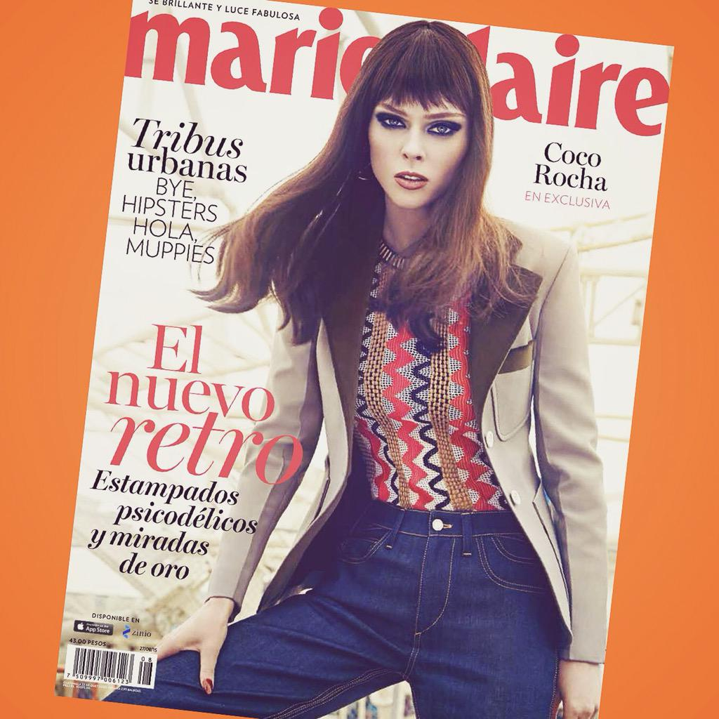 70's vibes 💋 @MarieClaire_LA  August Issue. #momjeans for the new mom. http://t.co/JxjbCLnuAO