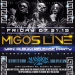 "TONIGHT @ #MansionElan, Migos LIVE! YRN Album Release! << Text ""FREE"" to 404-935-2193 to SKIP THE LINE ! >> http://t.co/yRgFyPq8IQ **"