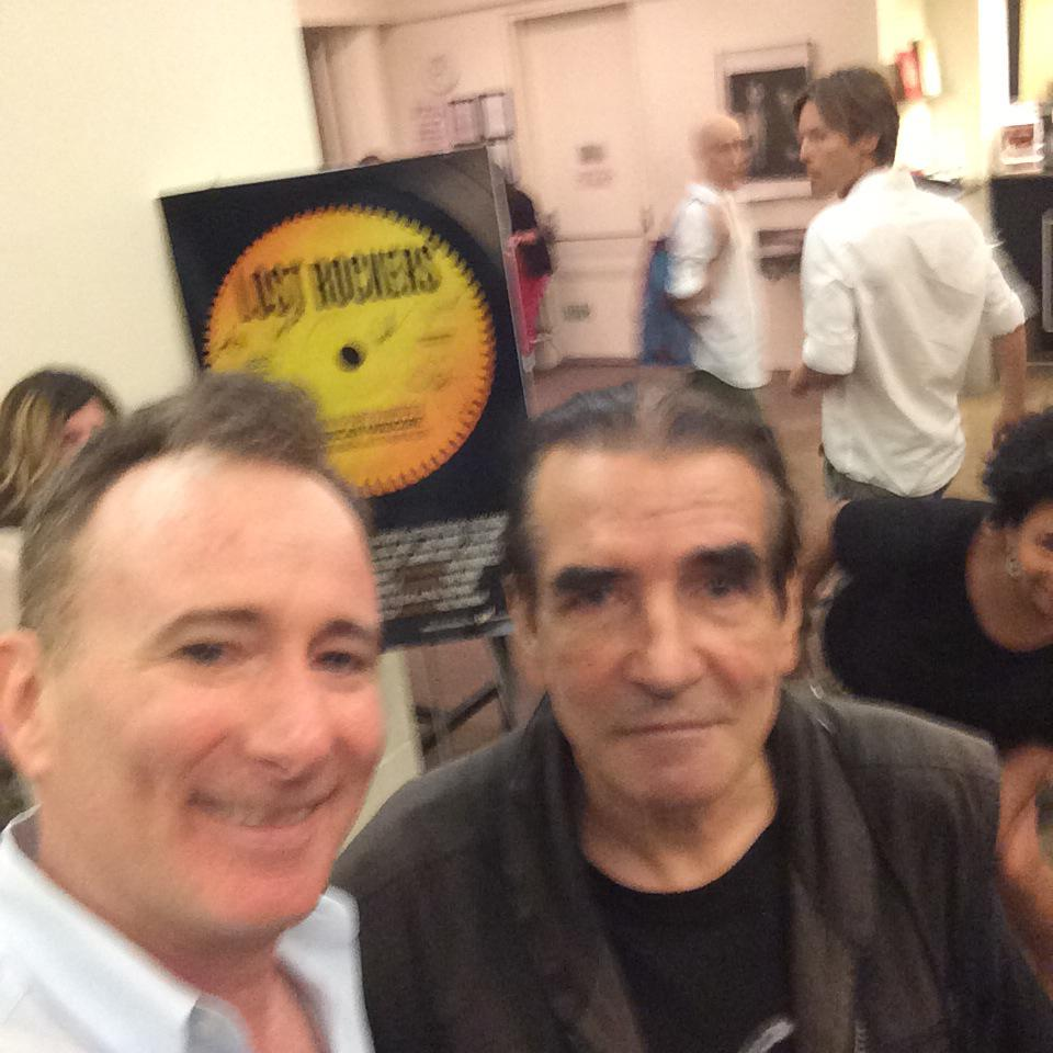 Thank you @FilmLinc @eug and staff for a great @LostRockers screening - w/ lost rocker david peel here http://t.co/9fPSgttA7B