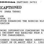 Archivos de EE UU detallan cómo Pinochet encubrió el caso Quemados http://t.co/HdgUTd9SZ7 EL PAÍS los adelanta http://t.co/eMl0AUxhPD