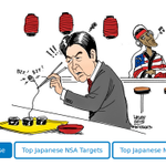 """RELEASE: """"Target Tokyo"""": NSA spied on Japanese PM and major corps such as Mitsubishi http://t.co/l8IE61u59T"""