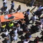جانب من تشييع جثمان الطفل الرضيع #علي_دوابشة الذي أحرقه مستوطنون فجر اليوم بنابلس #حرقوا_الرضيع #IsraelBurnBabies http://t.co/05PBWkUjAl