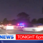 2 arrested after car chase from Ormeau to Byron Bay.Police from both states combined but QLD cops angry #9News http://t.co/5wPtTMfkZd