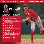 .@Heandog8 gets the ball in todays afternoon matchup with the #Dodgers. http://t.co/URL768NmVo