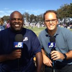About to be live in Oxnard at #CowboysCamp on @nbcdfw with @newyscruggs. Tune in. http://t.co/sVWbZKlFs2