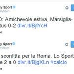 punto 1 - la Juve HA PERSO 2a0 punto 2 - la celeberrima imparzialità di @SkySport @Ruttosporc http://t.co/0H9MGSliHN