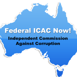Hey #auspol.. How about a #FEDERALICACNOW? Every time this image is RT.. Corrupt politicians get scared.. http://t.co/Xw7lUVtLAu