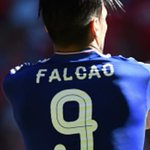 Falcao tried to comb his hair before the game but he missed. http://t.co/S65P1I0BqY