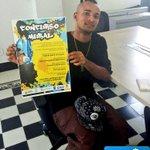 Larry Molina, muralista urbano, se unió a la convocatoria del Concurso Mural. ¿Tú qué esperas? http://t.co/c1X8MIvO91 http://t.co/H9tNnmsVDw