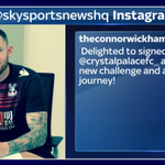 SOCIAL: @ConnorWickham10 has taken to Instagram to post a photo of him signing his new Crystal Palace contract #SSNHQ http://t.co/egYqEZ2wMA
