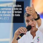 Presidente Correa advierte tiempos difíciles en mandato. http://t.co/MGkHlN8Nvk http://t.co/zgEOV4VQxg