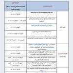 #تصريح_القبول_الموحد جدول مواعيد عرض وإعتماد البرامج الدراسية وإنهاء إجراءات التسجيل بمؤسسات التعليم العالي 2016/2015 http://t.co/yoPgNXvedW